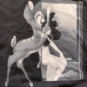 Givenchy Monochrome Bambi Hoodie in Black